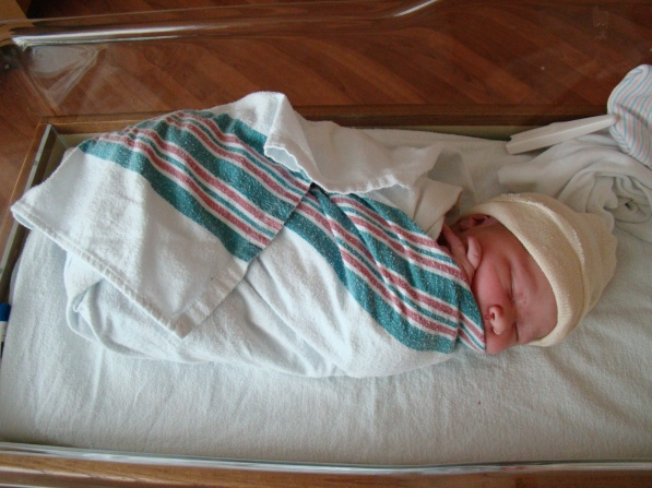 Born on March 8, 2012 at 4:55 a.m.